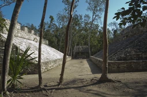 Zona arqueologica de Coba juego de pelota
