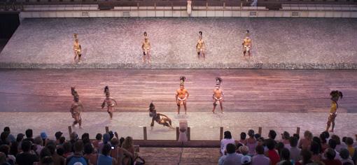 Show Mexico Espectacular Juego de Pelota