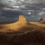 East and West Mitten Buttesg Monument Valley