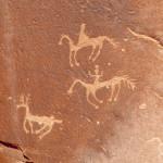 Cañon de Chelly pinturas rupestres